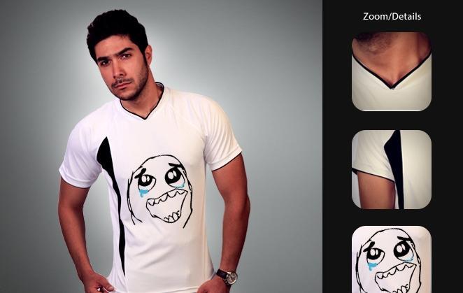 خرید تی شرت ترول غمگین