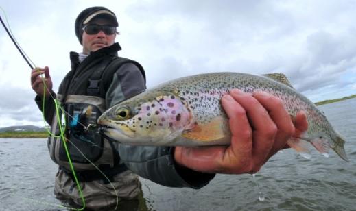 catch trout - صید قزل آلا - گرفتن ماهی قزل آلا