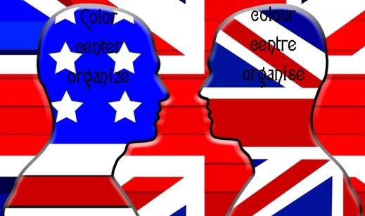 American British Spelling Difference - تفاوت املایی American و British