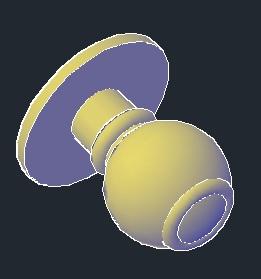 دستگیره در 3D