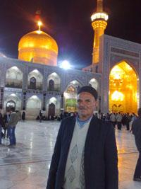 مرحوم رحمت اله خواجه علی چالشتری