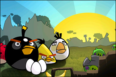 نقد بازی angry birds