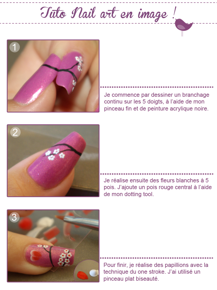 Tuto Nail Art Pictures to pin on Pinterest