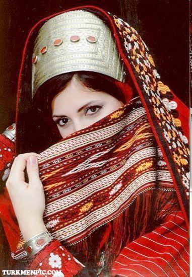 زنان و دختران ترکمن