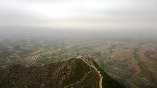 خالد نبی+ هزار تپه+ بقعه ی چوپان آتا