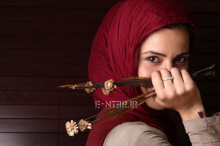 عکس جدید سارا بهرامی بازیگر سریال پروانه