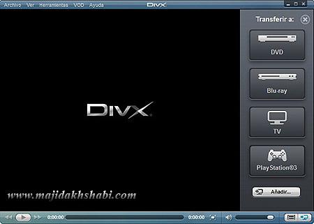 نرم افزار پخش فیلم های DivX