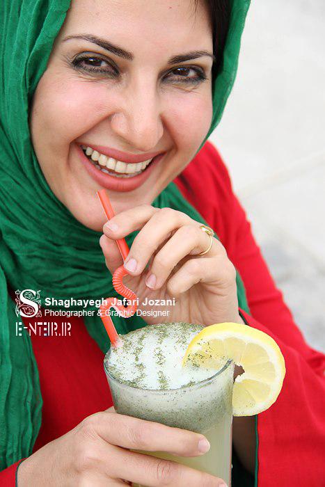 جدید ترین عکس های فاطمه گودرزی بازیگر سریال بالهای خیس