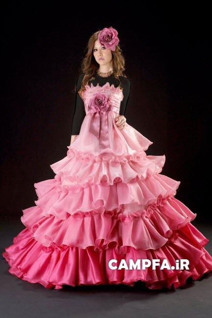 مدل لباس مجلسی ژاپنی 2013