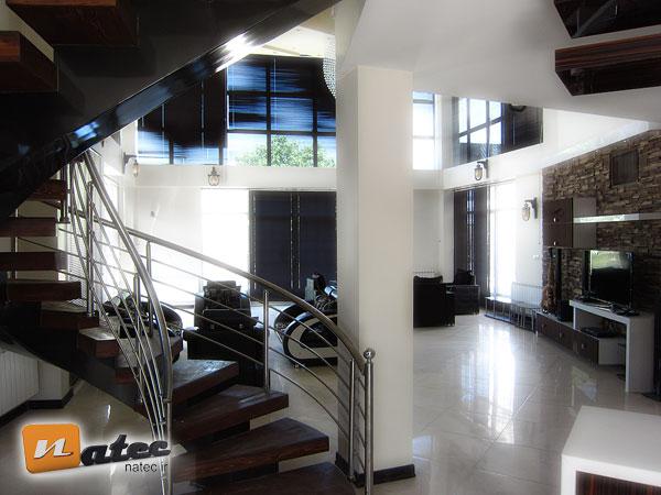 نمونه کار طراحی منزل مسکونی و ویلا در اصفهان
