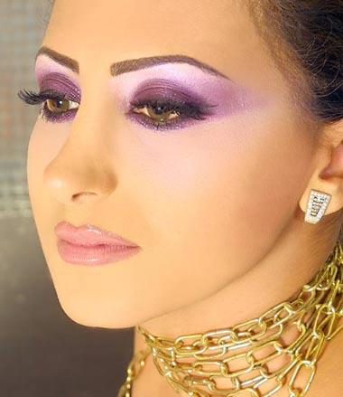 مدل آرایش عربی,مدل آرایش خليجی