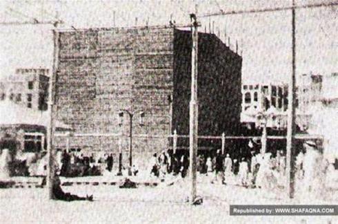 عکسی قدیمی از خانه خدا کعبه-بچه های دیروز-پریروز