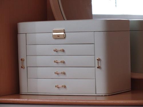 جعبه جواهرات رمز دار