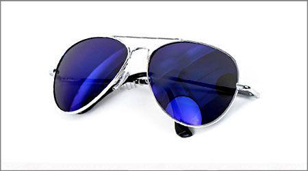 خرید عینک آفتابی شیشه آبی