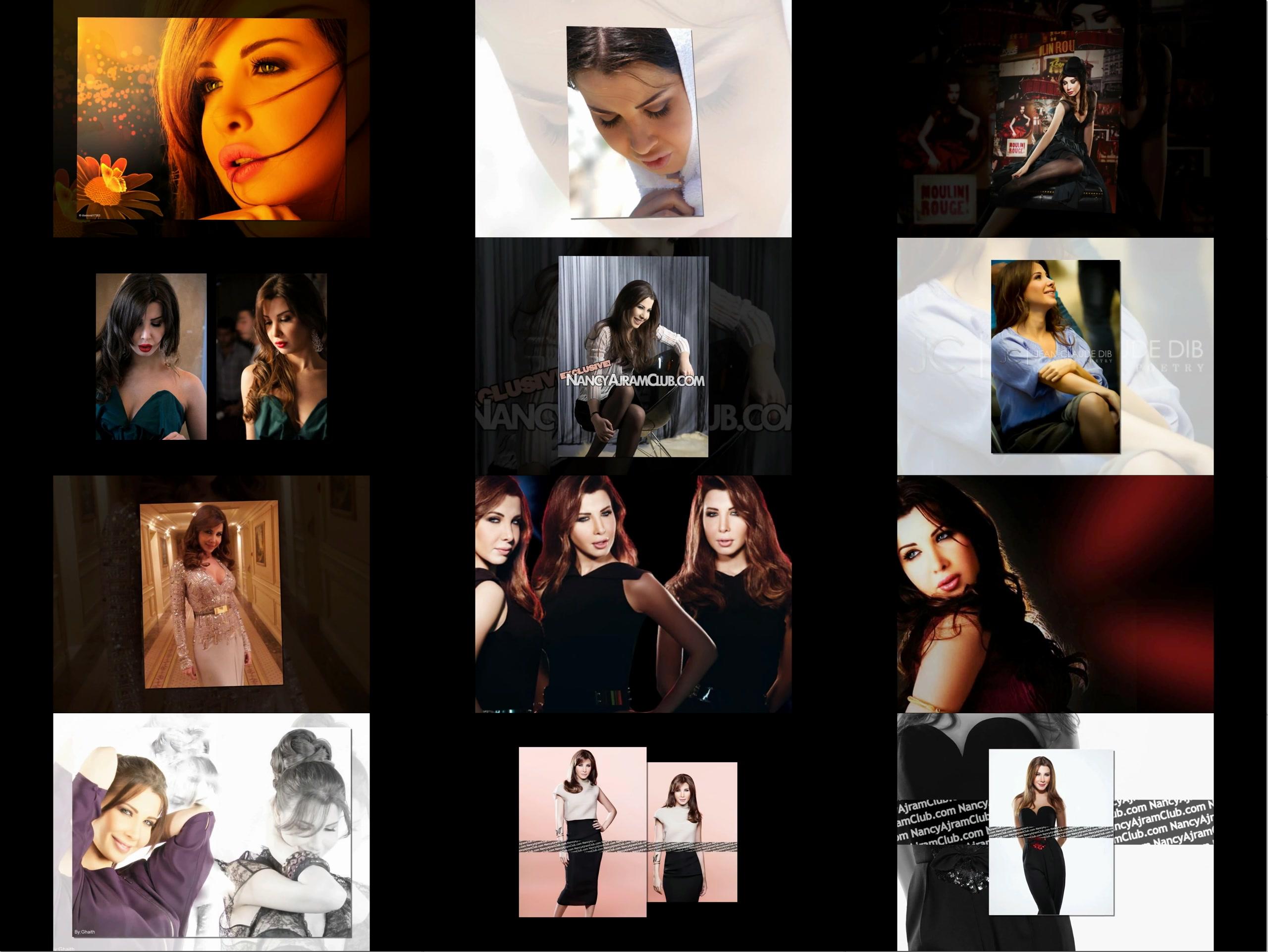 دانلود میکس تصاویر نانسی عجرم با اهنگ شادمهر Nancy Ajram Slideshow & Shadmehr
