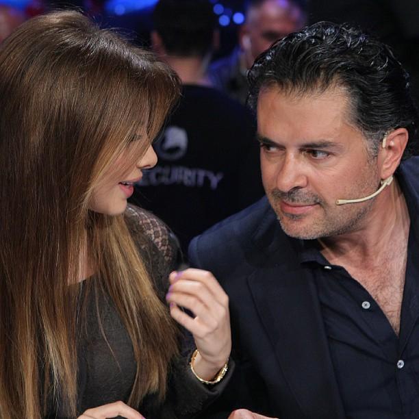 تصاویر جدید نانسی عجرم در برنامه ی عرب ایدول Nancy Ajram From Arab Idol