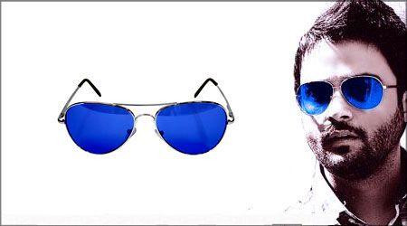 خرید عینک طرح 3025 ریبن شیشه آبی