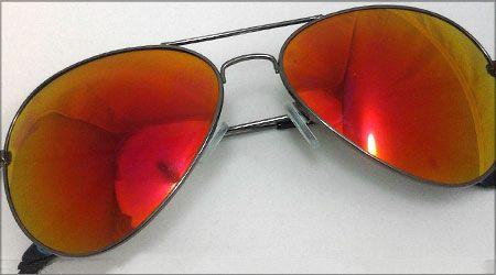 خرید عینک خلبانی شیشه آتشی