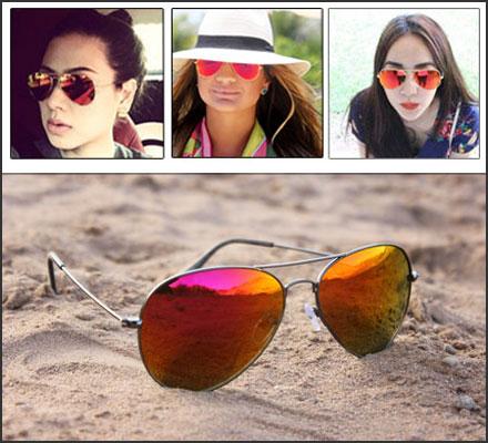 خرید عینک خلبانی زنانه اصل