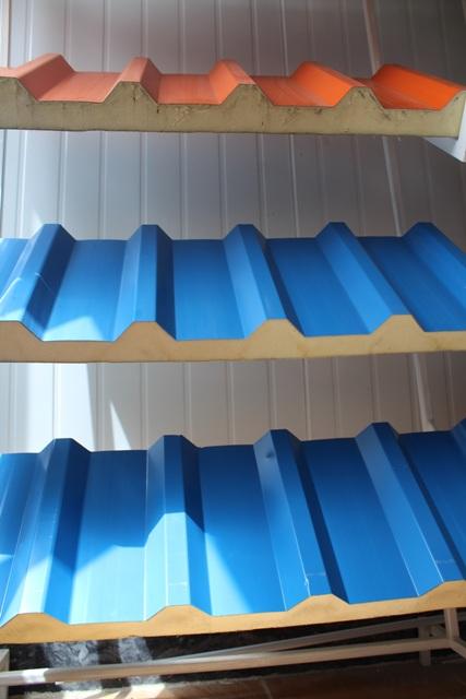 ساندویچ پانل دیواری شركت ماموت پانل دلیجان - مطالب ابر عکس ساندویچ ...نمونه ساندویچ پانل تولید شده در رنگ های مختلف