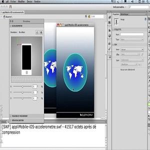 تصویر آموزش طراحی فایل فلش