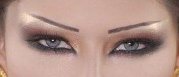 مدل سایه چشم عربی مدل سایه چشم خلیجی 2013