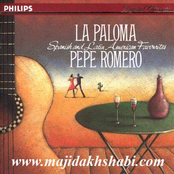 """موسیقی:گیتار کلاسیک زیبا و شنیدنی پهپه رومرو در آلبوم """" لا پالوما """""""