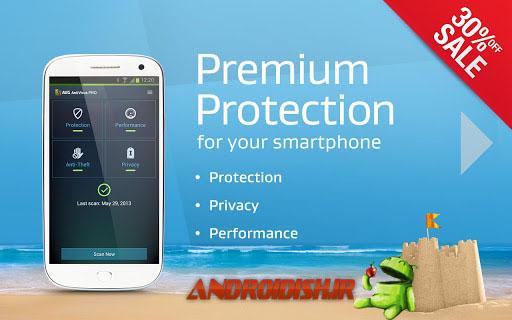 دانلود آنتی ویروس حرفه ای اندروید Mobile AntiVirus Security PRO 3.2.4