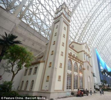 مطالب داغ: بزرگترین ساختمان جهان در چین
