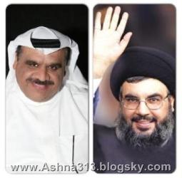 سید حسن نصر الله و داوود حسین