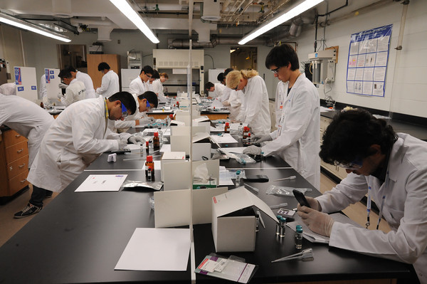 آزمون عملی المپیاد شیمی