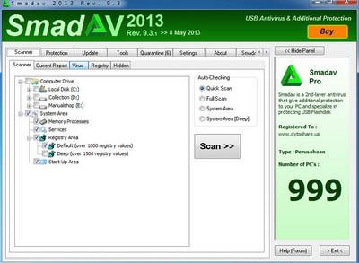 دانلود آنتی ویروس Smadav 9.3.1 + سریال ورژن 2013