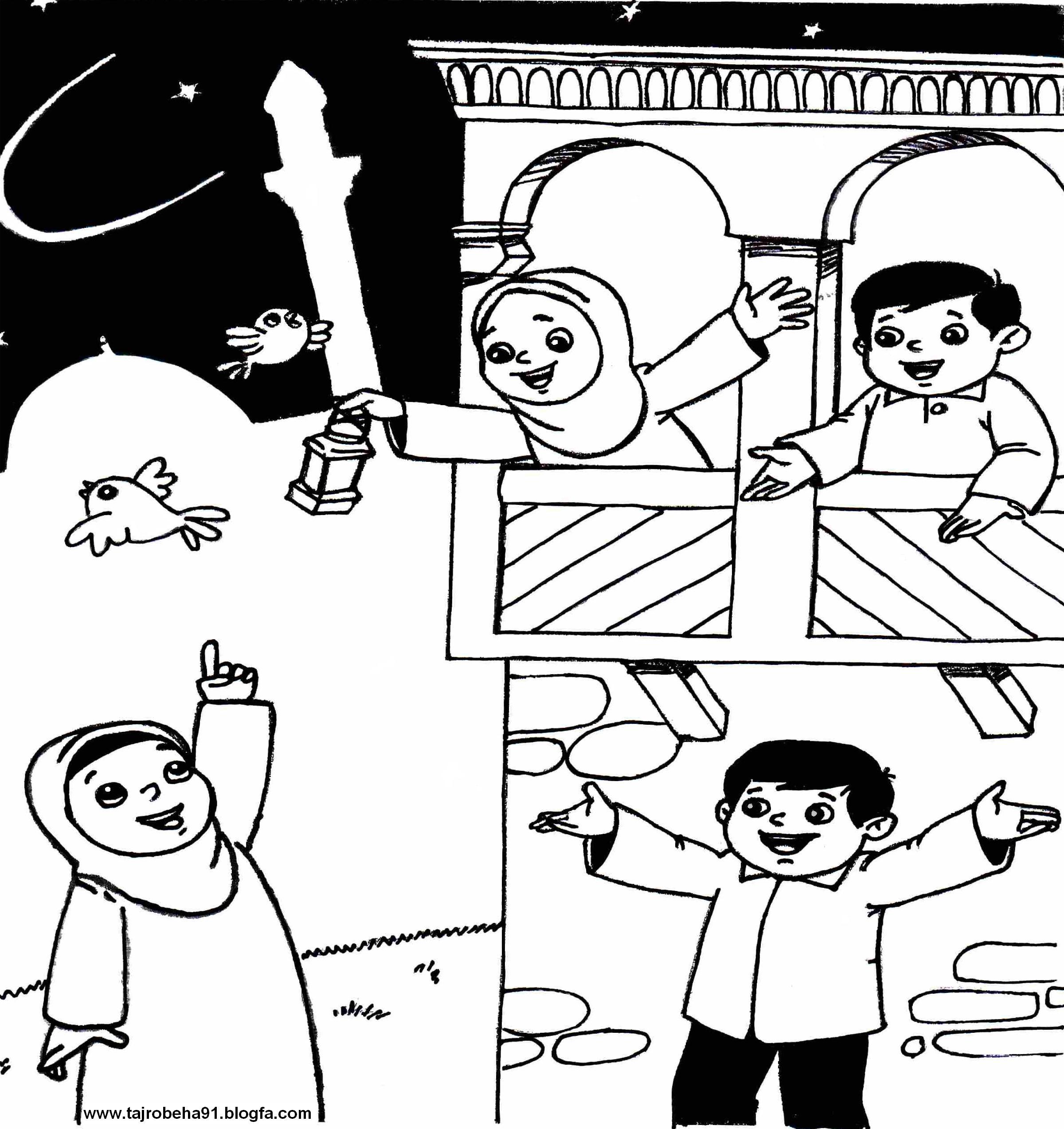 رنگ آمیزی مذهبی عید فطر
