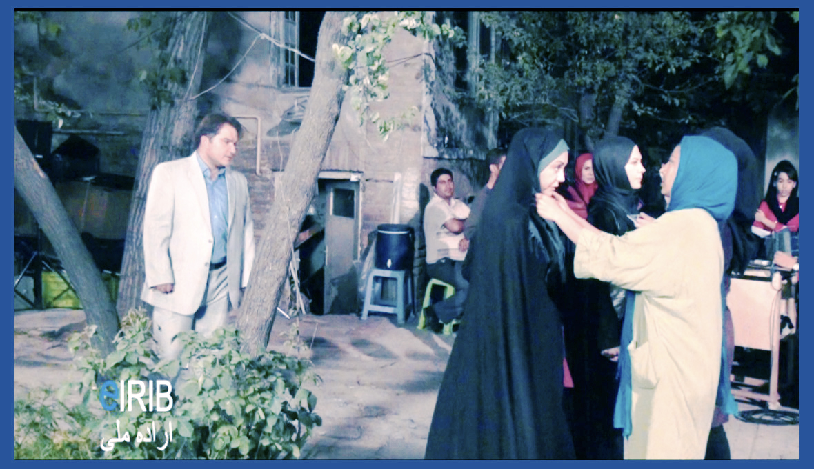 فیلم پشت صحنه ی سریال مادرانه, عکس های پشت صحنه ی سریال مادرانه, گزارش تصویری از پشت صحنه ی سریال مادرانه, مهدی سلطانی و لعیا زنگنه