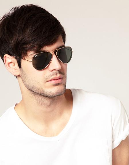 خرید عینک آفتابی مردانه و زنانه ریبن طلایی اصل مدل 2013