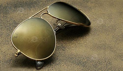 خرید عینک آفتابی ریبن نقره ای