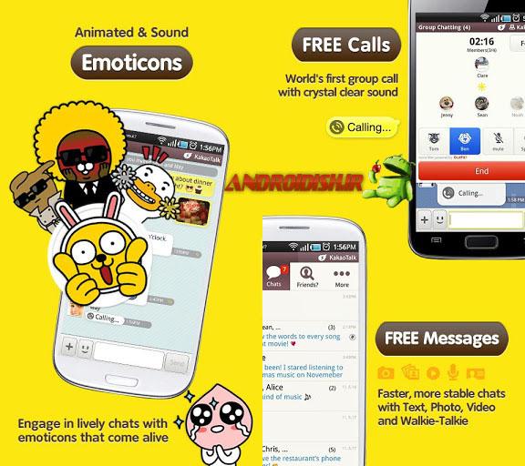 دانلود مسنجر محبوب KakaoTalk: Free Calls & Text 3.8.7 برای اندروید