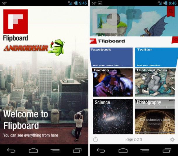 دانلود مجله شخصی Flipboard: Your News Magazine 2.0.7 برای اندروید