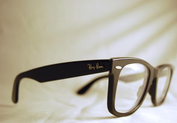 عینک زنانه ریبن ویفری شیشه شفاف