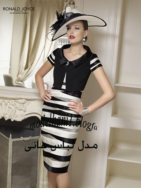 جدیدترین مدل لباس اروپایی با دامن کوتاه