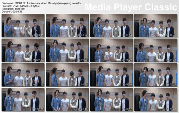 SS501 8th Anniversary Video Message kimkyujung com flv thumbs 2013 08 26 15 02 31  persian sub  SS501 8th Anniversary Video Message
