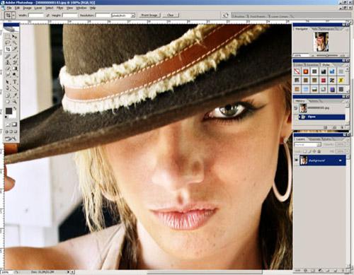 آموزش روتوش تصویر-پوست صاف و طبیعی