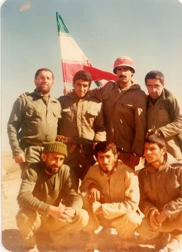 برادران شهید بسیجی علی اصغر عبدی