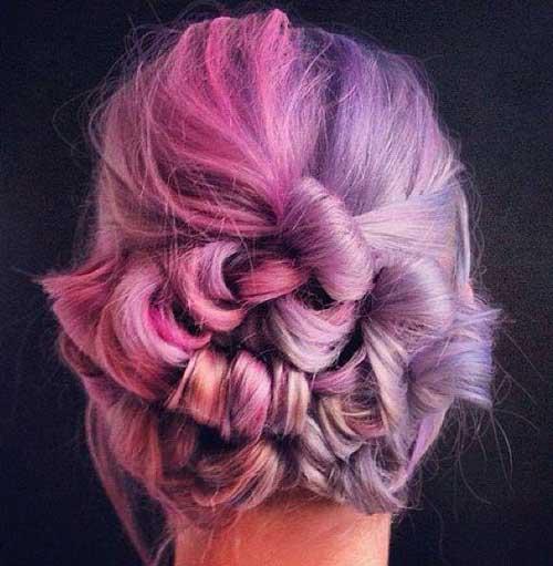 جدیترین رنگ موی فانتزی