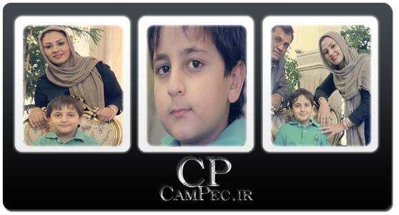 جدید ترین عکس های محمد رضا شیرخانلو به همراه مادرش