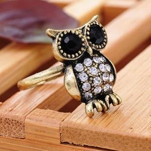 خرید انگشتر طرح خفاش دخترانه