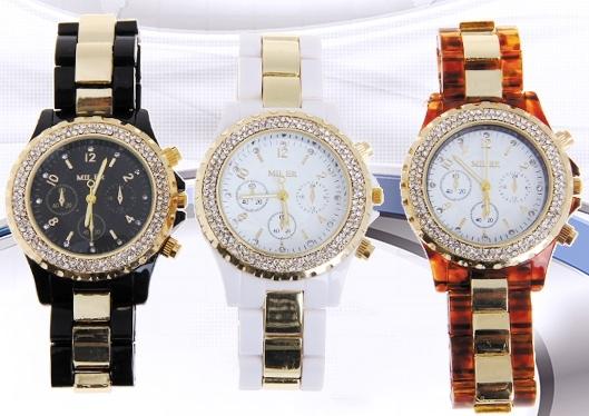 خرید اینترنتی ساعت مچی استیل رنگی دخترانه 2013