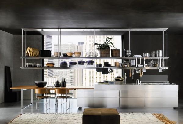 طراحی آشپزخانه شیک مدرن و لوکس