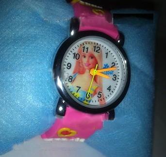 خرید ساعت مچی بچه گانه باربي دخترانه