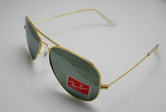 عینک فریم طلایی ریبن زنانه